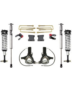 "2007-2018 GMC Sierra 1500 2wd W/ Cast Steel Suspension 7""/4"" Lift Kit W/ Fox Shocks - MaxTrac K881375F"
