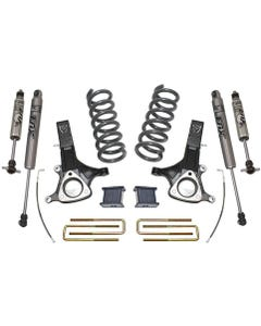 "2002-2008 Dodge RAM 1500 4.7L V8 2wd 7""/4"" Lift Kit W/ FOX Shocks - MaxTrac K882170F"