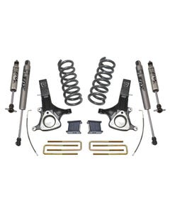 "2002-2008 Dodge RAM 1500 5.7L V8 HEMI 2wd 7""/4"" Lift Kit W/ FOX Shocks - MaxTrac K882171F"