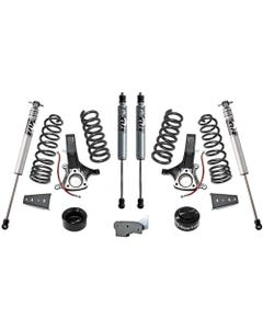 "2014-2018 Dodge RAM 1500 2wd Eco Diesel 6.5""/4.5"" Lift Kit W/ FOX Shocks - MaxTrac K882464F"