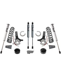 "2009-2018 Dodge RAM 1500 2wd V6 Gas 6.5""/4.5"" Lift Kit W/ FOX Shocks - MaxTrac K882465F"