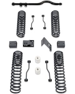 "2007-2018 Jeep Wrangler JK 2wd/4wd 4.5"" Coil Lift Kit W/ Front Track Bar (No Shocks) - MaxTrac K889745"