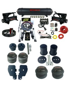 3 Preset Heights Complete Air Ride Suspension Kit GM Cars 65-70 Impala Manifold
