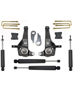 "2001-2009 Ford Ranger 2wd 5/3"" MaxTrac Lift Kit W/ Shocks - K883053C"
