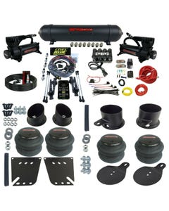 3 Preset Heights Complete Air Ride Suspension Kit GM Cars 58-64 Impala Manifold