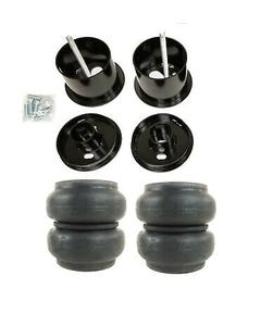 61-62 Cadillac Front Air Ride Suspension Kit Slam RE7 Airbags Mounting Cups