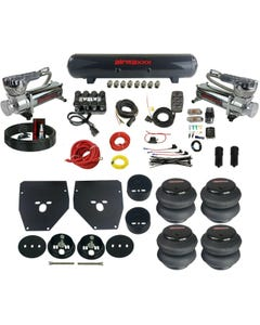Complete Air Ride Suspension Kit 63-72 C10 3/8 Evolve Manifold Bags Tank 580