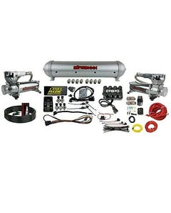 Levelride Pressure Only Kit Airmaxxx Chrome 580 Air Management w/ Complete Wire
