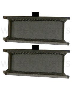"""2"""" Fabricated Steel Lift Blocks Pair For Rear Axle 1996-2020 Toyota Tacoma Truck"""