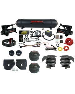 Complete Air Ride Suspension Kit 73-87 GM C10 Level Ride 3 Preset Bluetooth APP