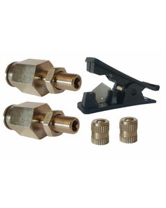 "2 - 3/8"" Schrader Inflation Fill Valves & Fast Hose Cut Tool Air Ride Suspension"