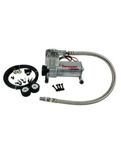 Airmaxxx Pewter Utility Air Compressor For Air Ride Suspension Air Horns 130 psi