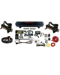 Levelride Pressure only Airmaxxx Black 480 Air Management Kit Complete Wire kit