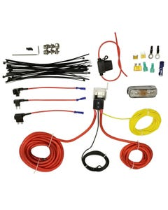 Airmaxxx Single Compressor Wire kit Air Ride Suspension Install Kit Fits Viair