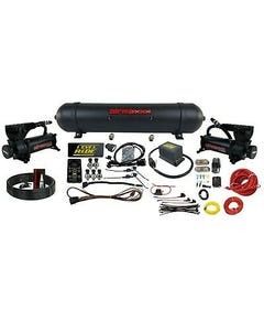 Level ride Pressure Manifold Airmaxxx Black 580 Spun Aluminum Air Management