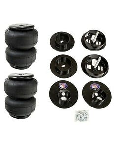 65-70 Cadillac Rear Air Ride Suspension Kit AirLift D2500 Airbags Mounting Cups