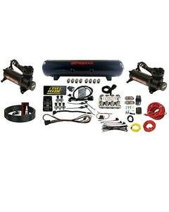 Level ride Pressure Airmaxxx Black 480 Air Management Kit Complete Wire AVS