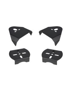 REAR AXLE UPPER & LOWER BAG MOUNTING BRACKETS