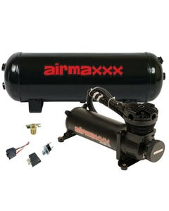 Air Compressor 480 Airmaxxx Black 3 Gallon Air Tank Drain 150 on 180 off Switch