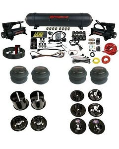 3 Preset Pressure Complete Bolt Air Ride Suspension Kit 65-70 Cadillac Manifold